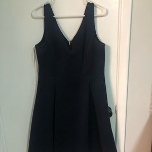Navy knee length dress